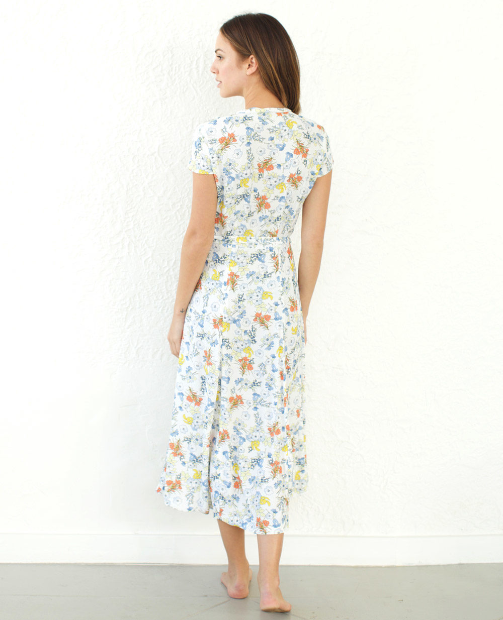 TheClothespinn.com Colette Dress Summerland Print