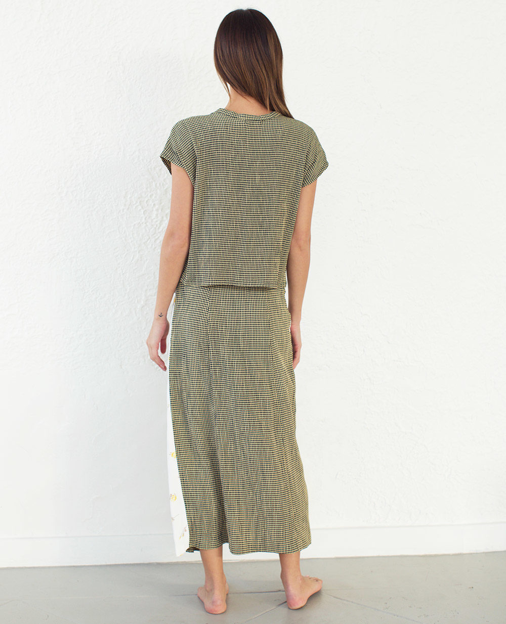 TheClothespinn.com | Emma Skirt Fritz Print & Rosebud Print Insert