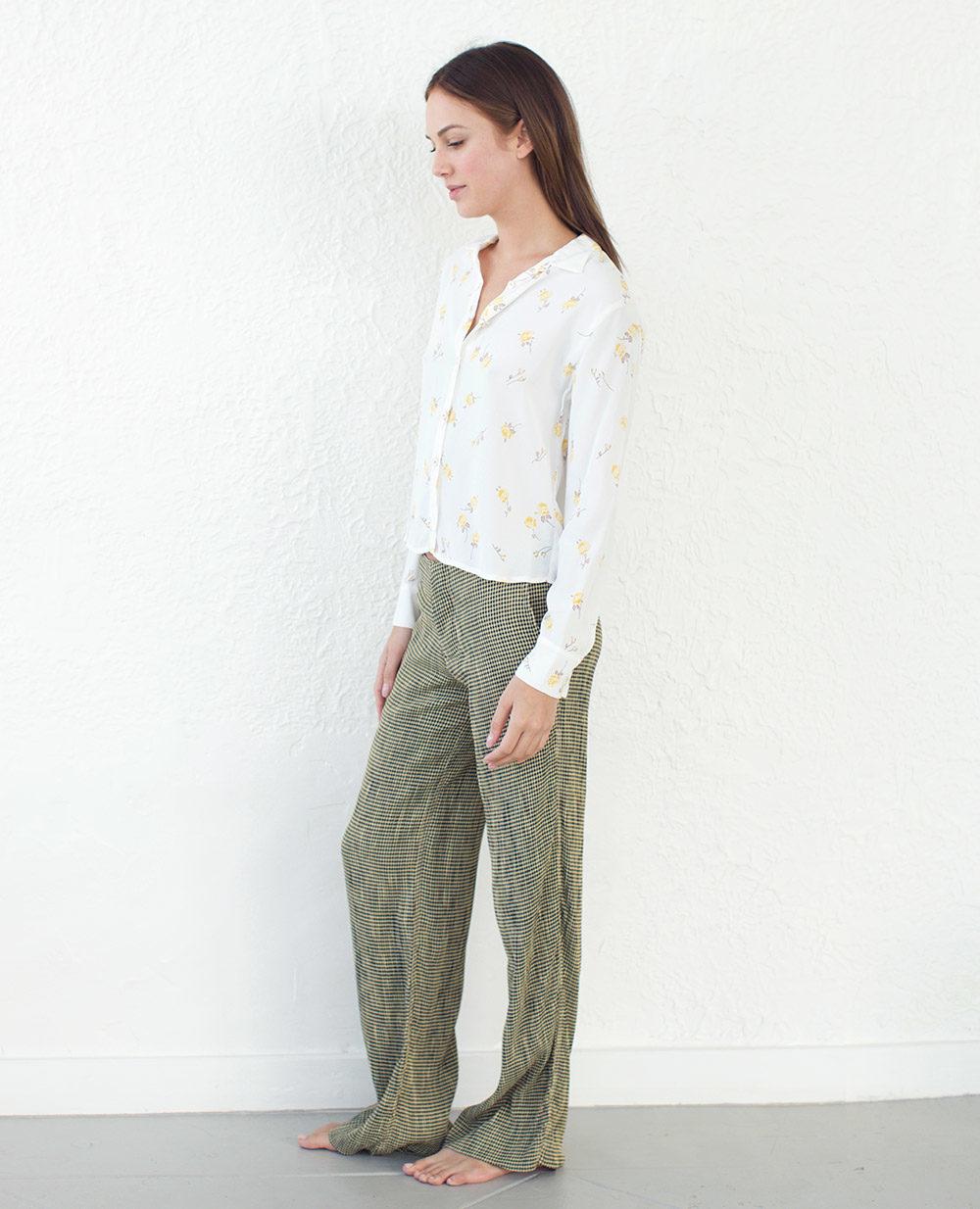 TheClothespinn.com | Lee Shirt Rosebud Print