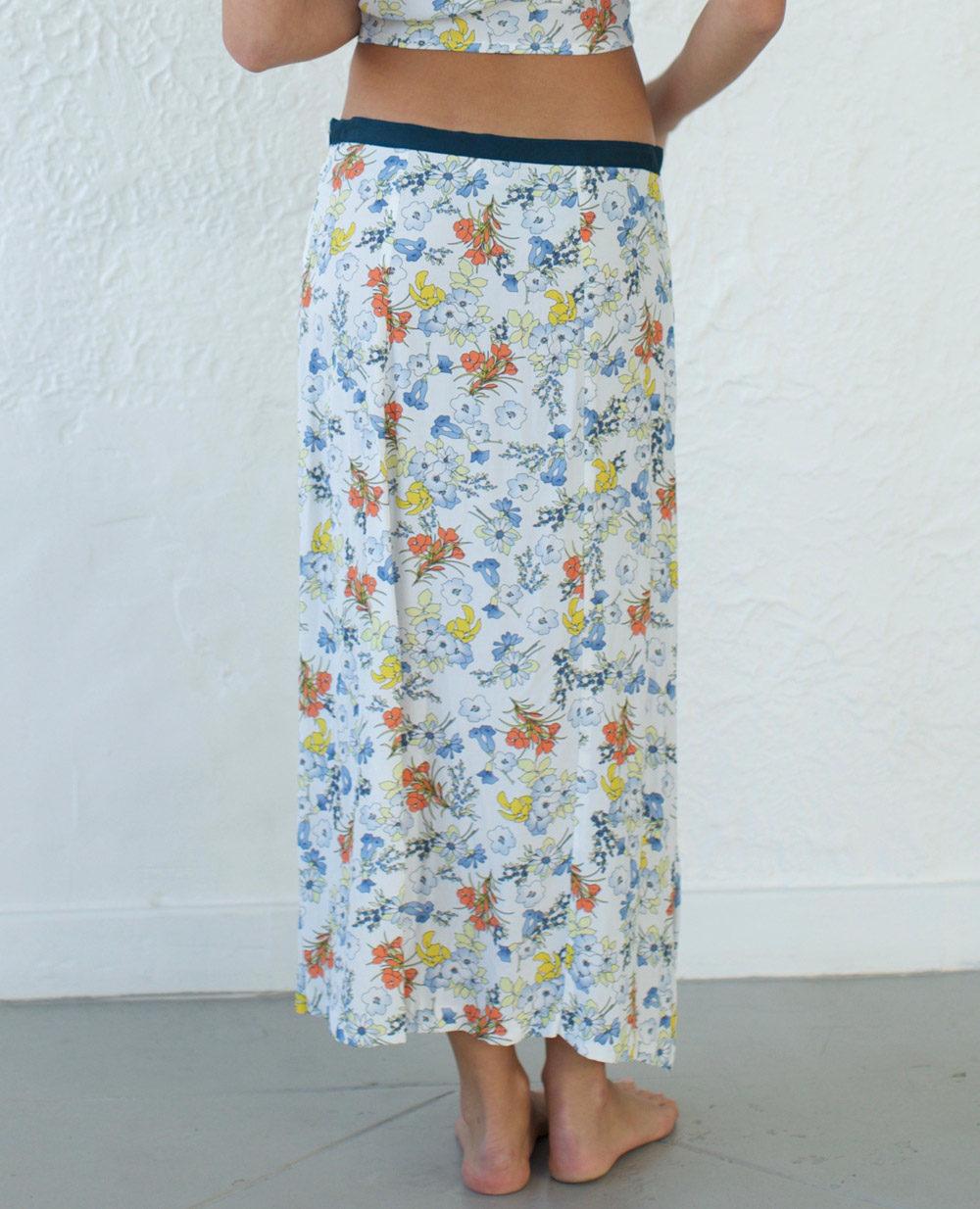 TheClothespinn.com Lilly Skirt Summerland Print
