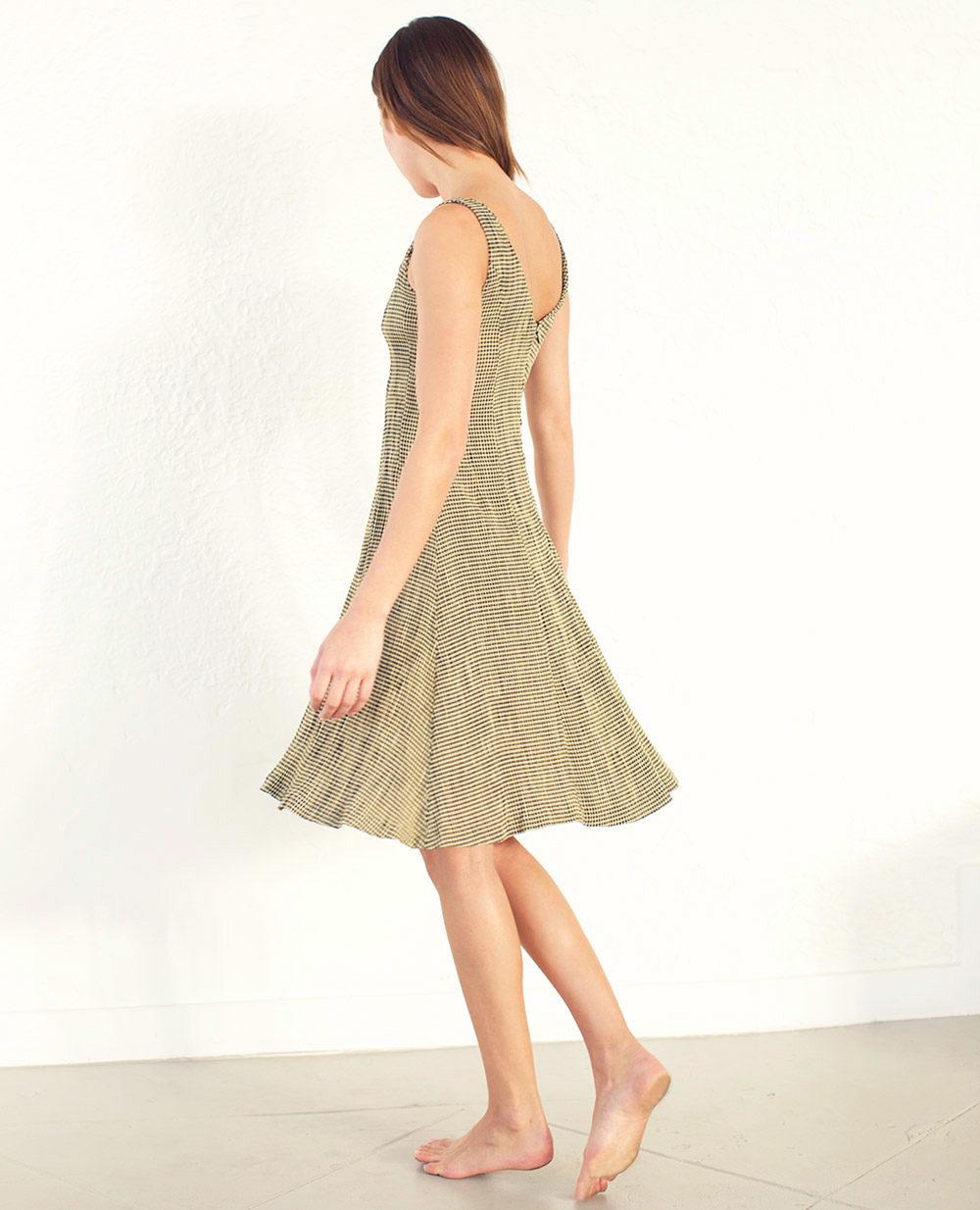 TheClothespinn.com | Sam Dress Fritz Print