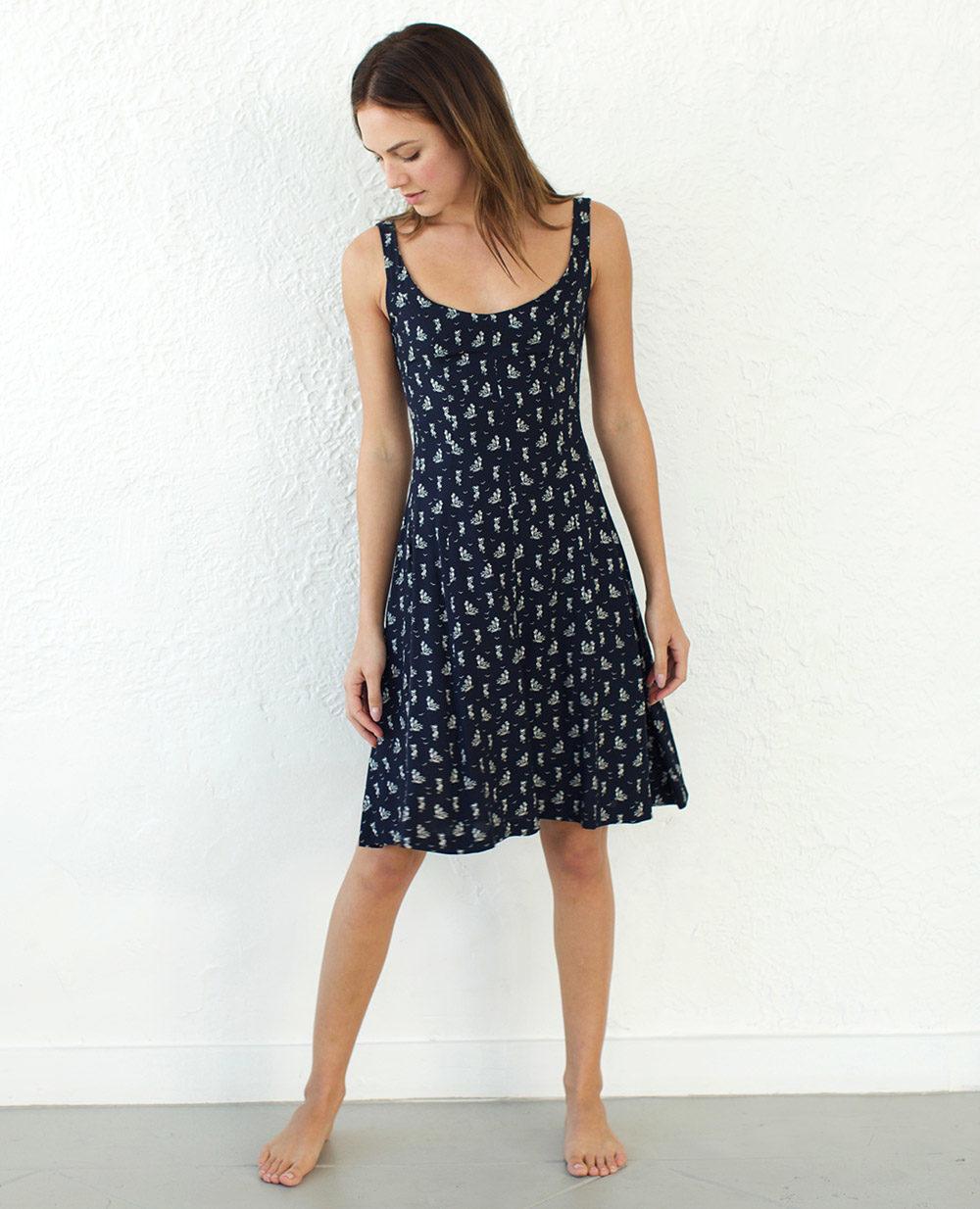 TheClothespinn.com | Sam Dress Fiesta Print