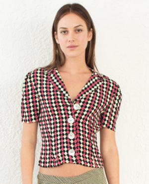 TheClothespinn.com | Willa Jacket Jacks Print